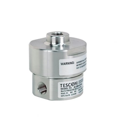 TESCOM 54-2100 Series Back pressure Liquid Regulator Ideal for use in pump discharge pressure control, chemical injection