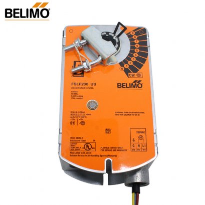 Belimo Fire and Smoke Spring Return Actuator FSLF230 US