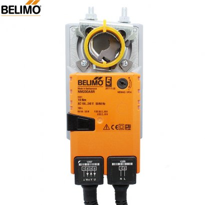 BELIMO NM230ASR Damper actuator for operating air control dampers in ventilation and air-conditioning systems for building servi