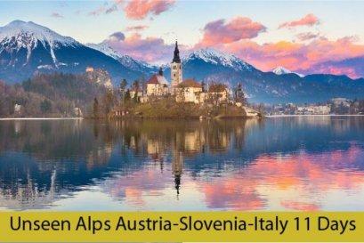 ทัวร์ออสเตรีย : UNSEEN ALPS AUSTRIA SLOVANIA ITALY 11 DAYS - (TG)