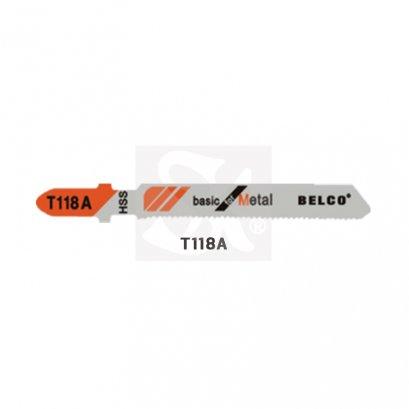 BELCO ใบเลื่อยจิ๊กซอว์ T118A