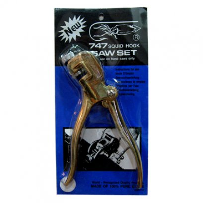 SQUIDHOOK Saw Setters - 100% Brass