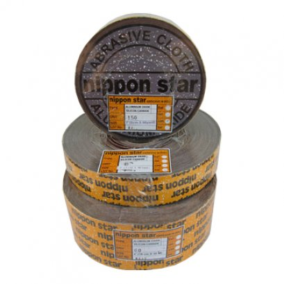 NIPPON STAR X-Weight Aluminum Oxide Cloth Rolls - 4""
