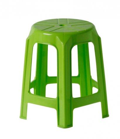 เก้าอี้กลม 5 ขา สีเขียว