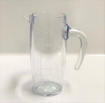 เหยือกน้ำมีหูจับ 250 ml (PC)