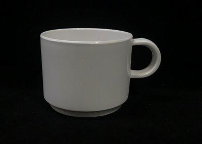 """ถ้วยกาแฟ 3"""" (สีครีมขาว)"""