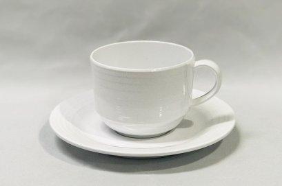 """ชุดถ้วยกาแฟพร้อมจานรอง 6"""""""