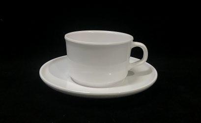 """ถ้วยการแฟพร้อมจานรอง 6"""""""