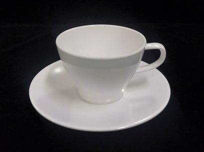 """ถ้วยกาแฟพร้อมจานรอง 6"""""""