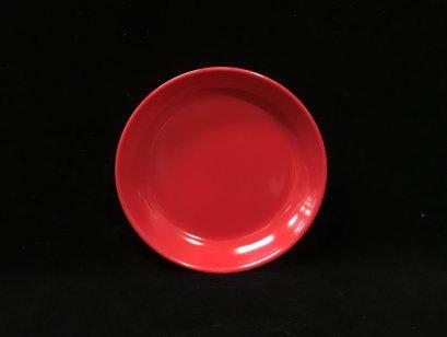 """จานทรงกลม 6.5"""" (สีแดง)"""