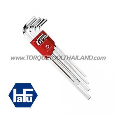 HAFU ชุดประแจแอลหกเหลี่ยมยาว (นิ้ว) 211-498-52