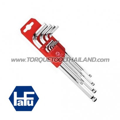 HAFU ชุดประแจแอลหกเหลี่ยมหัวบอลยาว 411-390-02