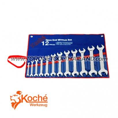 ชุดประแจปากตาย KCH014S12