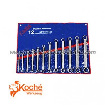 ชุดประแจแหวน 75 องศา KCH016S6
