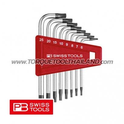 ชุดประแจหกเหลี่ยมสั้น หัวท็อกซ์ PB410H