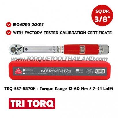 TRQ-557-5870K ประแจวัดแรงบิด SQ.DR.3/8