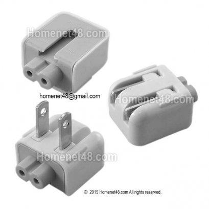 หัวแปลง Adapter 2 รู ให้เสียบไฟตรงได้ไม่ต้องใช้สายพ่วง (250V 2.5A)