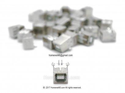 (ของหมด) อะไหล่สำหรับเปลี่ยนซ่อม หัว USB Printer ตัวเมีย 1 Port (เฉพาะหัว)