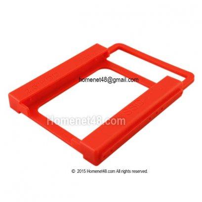 ถาดพลาสติกแข็งใส่ HD Notebook หรือ SSD 2.5 นิ้ว ในช่อง 3.5 นิ้ว PC