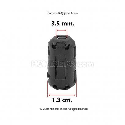 ตัวกรองคลื่นสัญญาณรบกวน (3.5mm) ลด Noise สายหูฟัง สาย USB สายรับ-ส่งข้อมูล
