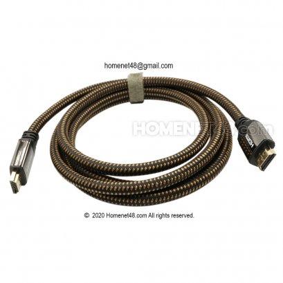 สาย HDMI 4K V2.0 (3D UHD Ethernet) Z-TEK ยาว 1.8 เมตร