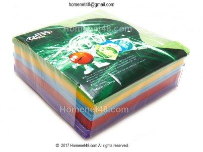 ซองใส่แผ่นCD ใยไหม มาตรฐาน (คละ 5 สีใน 1 แพค) (100/Pack))