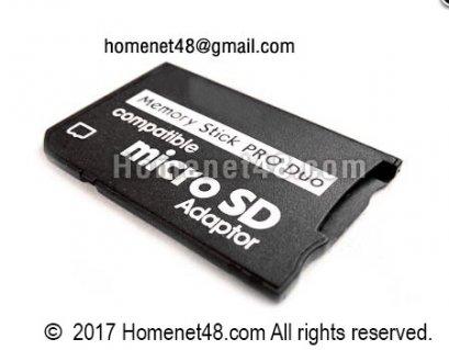 Adapter สำหรับแปลง Micro SD เป็น Memory Stick Pro Duo