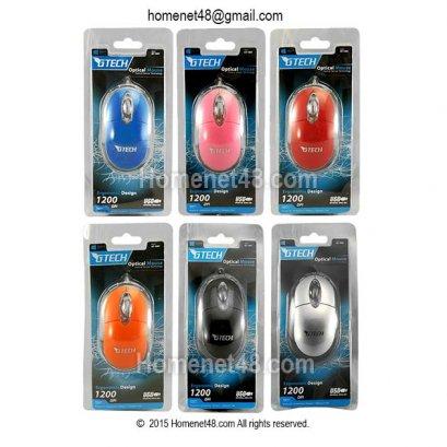 Optical Mini Mouse ราคาประหยัด Gtech GT1001 (USB) ไว้ทำของแจก ของแถม
