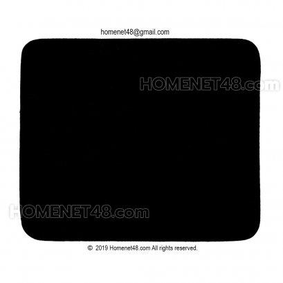 แผ่นรองเม้าส์ผ้า (Mouse Pad) พื้นยางสังเคราะห์ (SBR) 20x23.5 ซม. บางแต่หนึบ