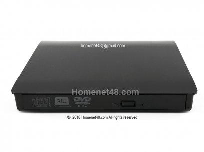 DVD-RW แบบต่อภายนอก (External)  ผ่าน USB (3.0) Port