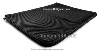 ซองบุฟองน้ำหุ้ม Notebook 15 นิ้ว (15x12 นิ้ว) ผ้าตาข่าย
