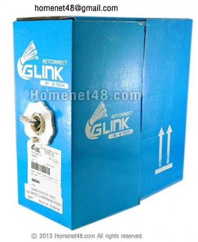 สายแลน CAT6 GLINK เดินในอาคาร กล่องเล็ก (100M/Box)