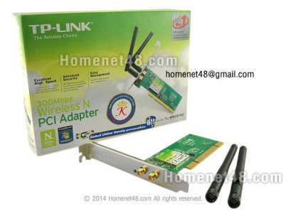 TP-Link PCI Wireless Lan Card 300Mbps  (TL-WN851ND)