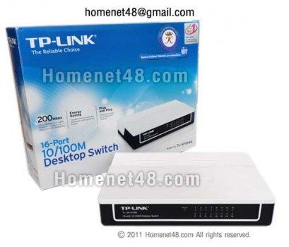 TP-Link 16 Ports Switching Hub 10/100 (TL-SF1016D)