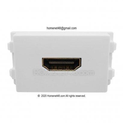 เต้ารับ HDMI (4K) หัวตรง (ใส่หน้ากาก Panasonic ได้)