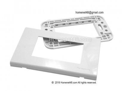 หน้ากากพลาสติก 3 ช่อง (Panasonic) Wide Series (WEG6803WK)