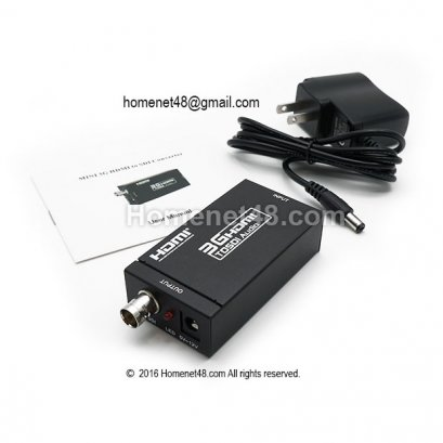 3G HDMI to SDI Monitor (BNC) + Adapter ความคมชัดสัญญาณสูง