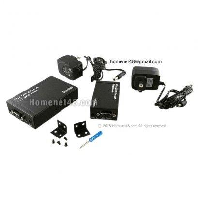 VGA UTP Extender 1x1 with Audio (1920x1200 dpi) (Max 300M)