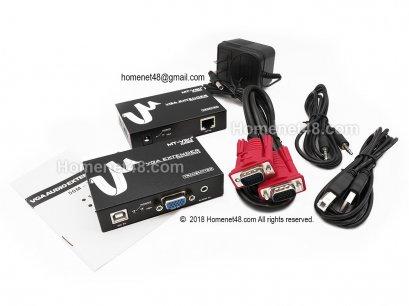 VGA UTP Extender 1x1 (1920x1440 dpi) (Max 100M)