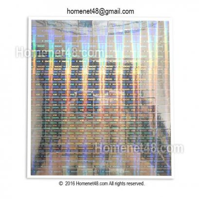 Sticker Void รับประกัน Hologram 3 มิติ สี่เหลี่ยม (0.8x1.6 ซม) (180 ดวง)