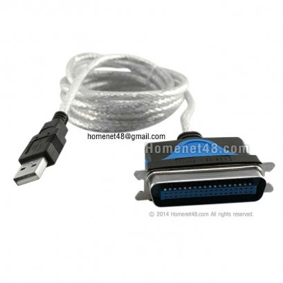 USB to Parellel Port 36 Pins (IEEE-1284) Z-Tek (Hi-Quality)