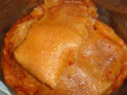 ปลาหมึกบดน้ำ (ปลาหมึกราดน้ำเชื่อม)