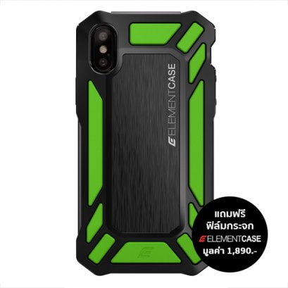 Element Case Roll Cage For iPhone X / Xs - Green
