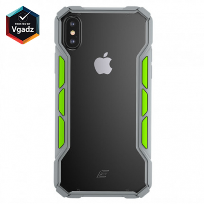 Element Case Rally IPhone XS MAX - Light grey/Lime