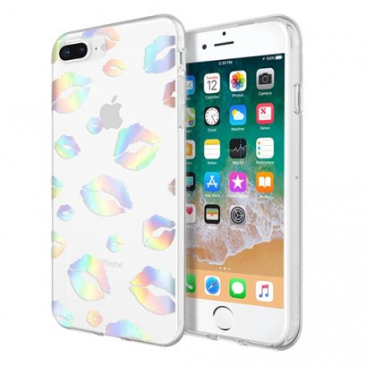 Incipio Design Series - Classic for iPhone 8 Plus, iPhone 7 Plus, & iPhone 6 / 6s Plus - Holographic Kisses