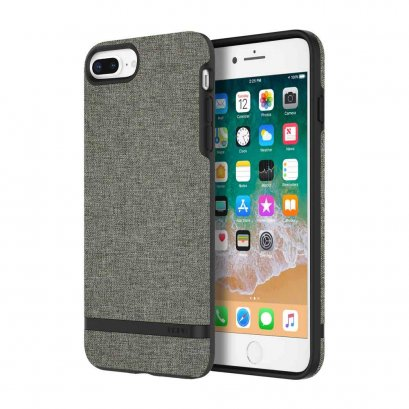 Incipio Esquire Series for iPhone 7 Plus / 8 Plus - Forest Gray