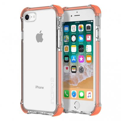 Incipio Reprieve Sport for iPhone 7 / 8 - Coral/Clear