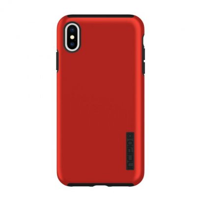 Incipio Dual Pro for iPhone Xs Max - Iridescent Red/ Black