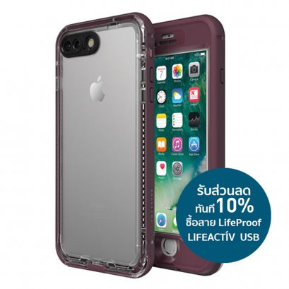 LifeProof NÜÜD Case for Apple iPhone 7 Plus - Plum Reef