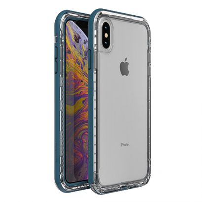 LifeProof Next for iPhone X / Xs - Clear Lake